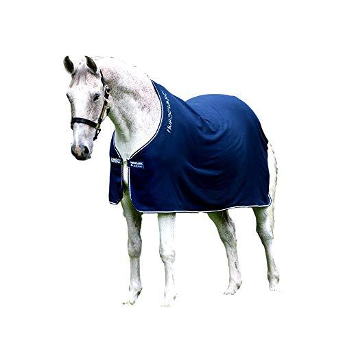 Horseware Amigo Bravo 12 Lite Disc 0g Regendecke Navy/Navy & White (125)