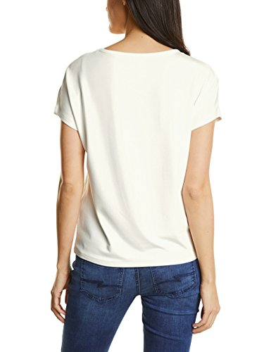 Street One Damen T-Shirt Beige (Off White 10108)