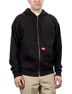 Dickies Men's Thermal Line Fleece Hoodie - Black, XL