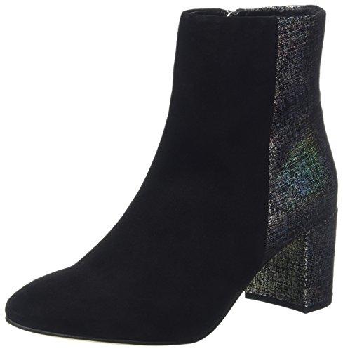 Van Dal Women's Gigi Ankle Boots, Black (Black Suede/Black Manhattan Print), 5.5...