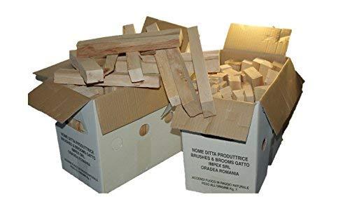 41tuWOzQGrL - Madera de haya natural para BARBACOAS y otros usos en envase de 7 kg