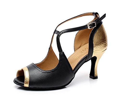 Minitoo ,  Damen Jazz, modern gold-3'' heel