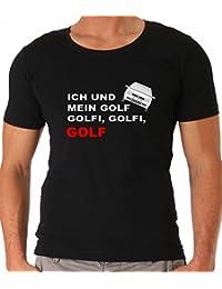 GOLF ICH UND MEIN GOLF GOLFI VW GOLF SHIRT T SHIRT SPRÜCHESHIRT PARTYSHIRT  UNISEX WÖRTHERSEE