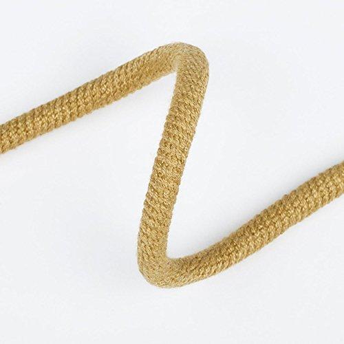 Neotrims Paspelband rund, 7mm, zum Polstern und Nähen, verschiedene Anwendungsmöglichkeiten, Baumwolle/Nylon, hohe Festigkeit, in 21 Farben erhältlich, Dijon Mustard, 7mm Jumbo cord 5yds Mustard Cord