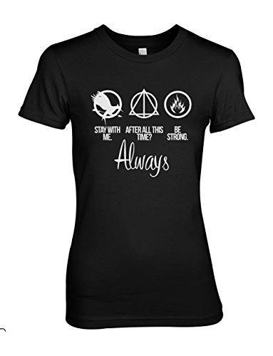 after-all-this-time-always-donna-t-shirt-maglietta-nero-medium
