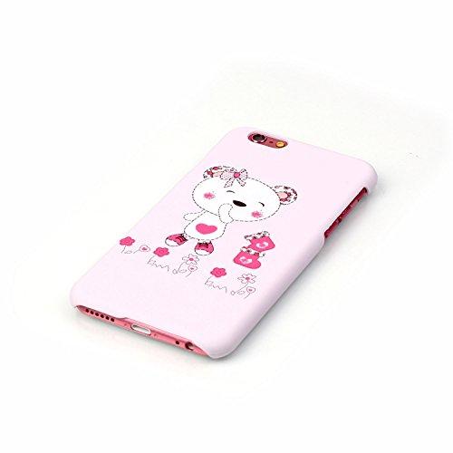 Coque iPhone 6s, Sunroyal® iPhone 6 / iPhone 6s Etui Ultra Mince Housse PC Plastic Impression Hard Dur Case pour Apple iPhone 6/6s (4.7 Pouces) Coque de Protection Absorption de Choc Bumper et Anti-Sc Motif 02