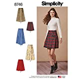 Simplicity Patterns US8746R5 - Faldones y pantalones, R5 (14-16-18-20-22)