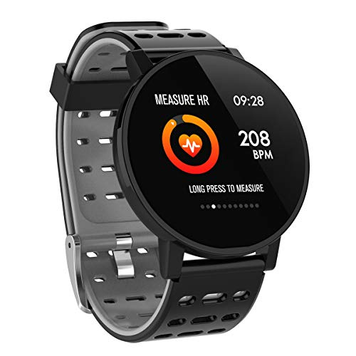 Smart Watch Fitness Tracker Smart Armband Fitnessuhr mit Herzfrequenz IP67 Wasserdicht Kompatibel mit Bluetooth 4.0 oder höher(T3-1) E-mail Bluetooth