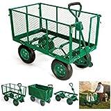 ProBache - chariot remorque de jardin cross 300 kg de capacité sans bâche
