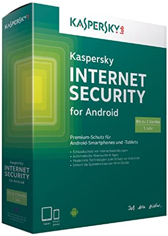 Kaspersky Internet Security for Android für 2 Geräte
