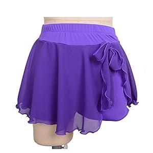 Kurze Röcke Für Eiskunstlauf Mädchen Eiskunstlauf Bottoms Praxis Wettbewerb Leistung Tanz Röcke Skating Wear