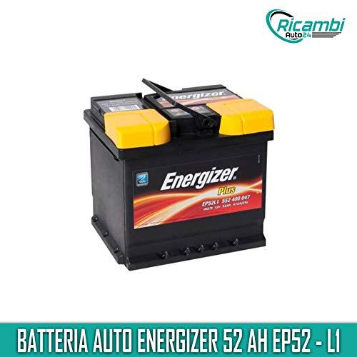 Batteria per Auto Energizer EP52-L1 52 Ah 470A Polo Positivo a Dx