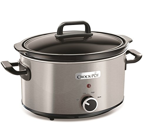 Crock-Pot - Slow Cooker, 3.5 Litros, acero inoxidable
