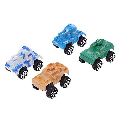 my Military Tanks Mini Zurückziehen Autos Kunststoff Tanks Spielzeug für Kinder Kleinkinder Zufällige Farbe ()