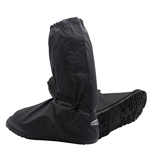 YOPINDO Regen-Überschuhe Wiederverwendbare Wasserdichte Überschuhe für Frauen Männer (XXXL)