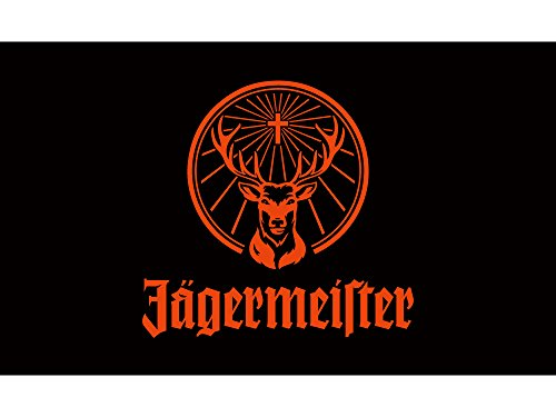 Preisvergleich Produktbild JM Jägermeister Fahne 150x90cm