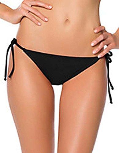 tommy-bahama-de-las-mujeres-distancia-cadena-tie-side-negro-pequeno-banador-bikini