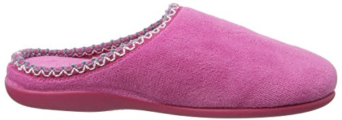 Dunlop Gwen Pantofole da Donna Rosa (Pink) (Fuchsia)