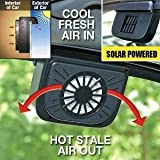 Solar Powered Car Auto Air Vent Cool Cooler Fan Brand New & High Quality Solar-powered and no batteries needed Fit any car window The Auto Cool uses sunlight to keep your car air clean while you\\\'re away. When you come back to your car, you\\\'...