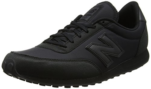New Balance U410BBK, Baskets Mixte Adulte, Noir (Black), 43 EU