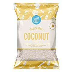Idea Regalo - Marchio Amazon - Happy Belly Cocco essiccato 200gr x 5