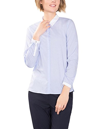 ESPRIT Collection Blouse Femme Bleu (LIGHT BLUE 440)