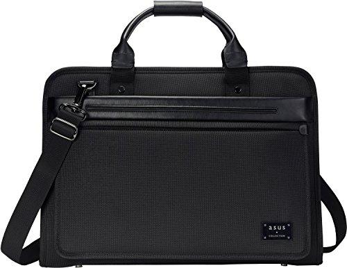Asus Midas Tasche (bis zu 16 Zoll, gepolstert, Ballistic Nylon, für Notebook) schwarz (Nylon Aktentasche Ballistic)