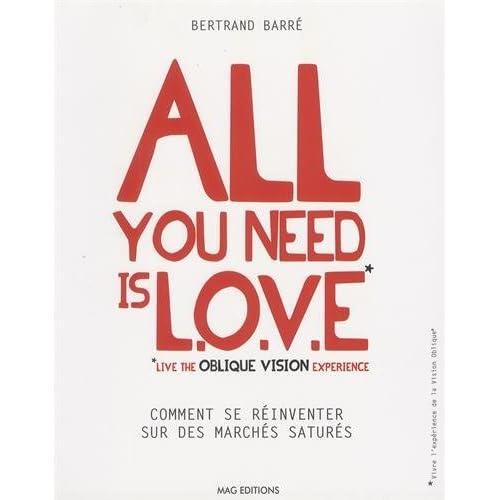 All you need is LOVE (Live the Oblique Vision Experience) : Comment se réinventer sur des marchés saturés