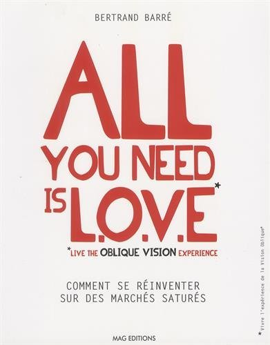 All you need is LOVE (Live the Oblique Vision Experience) : Comment se rinventer sur des marchs saturs