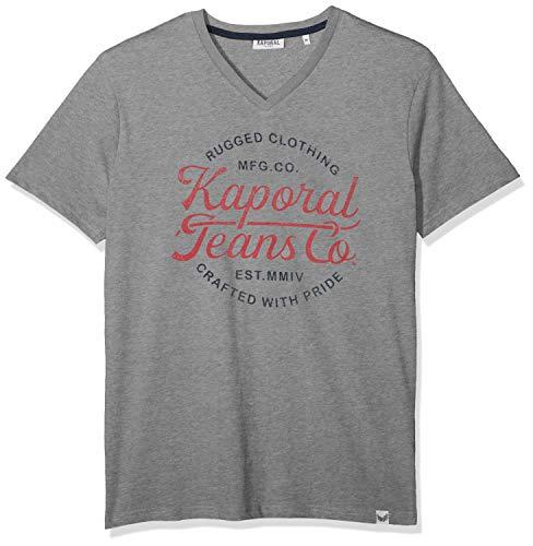Kaporal OBUCE T-Shirt, Gris (Medgrm M11), Large Homm