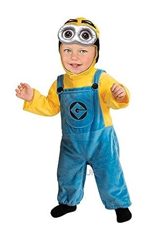 Minion Toddler Costume - Despicable Me Minion 2 Dave Toddler Costume