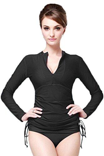cokar-rash-guard-manga-larga-para-natacion-para-mujer-camisa-proteccion-solar-mujer-color-negro-tama