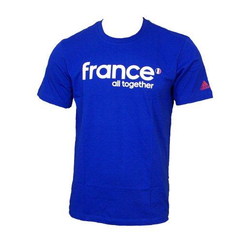 Adidas EURO 2012 Italien, Frankreich, Holland TEE T-Shirt, Größe:XS;Länder:Frankreich