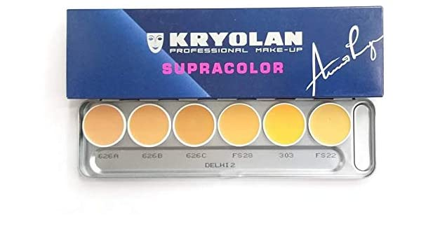 Buy Kryolan Supracolor palatte delhi 2 Online at Low Prices in India - Amazon.in