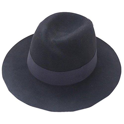 Mai Dou Femme Automne Et L'hiver Le Jazz La Mode Chapeaux Black