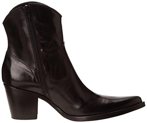 Donna Piu - Enea 9174, Stivali Da Cowboy da donna Nero (Noir (Tequila Nero))