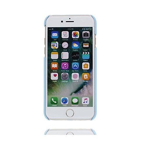 Case Cover iPhone 7 Custodia, iPhone 7 copertura Gel del silicone di [Liquid Crystal] copertura Slim Protection e Clarity Premium per iPhone 7 2016 (4.7 ) - fiore ( blu ) / ricamo Fiore Set 5