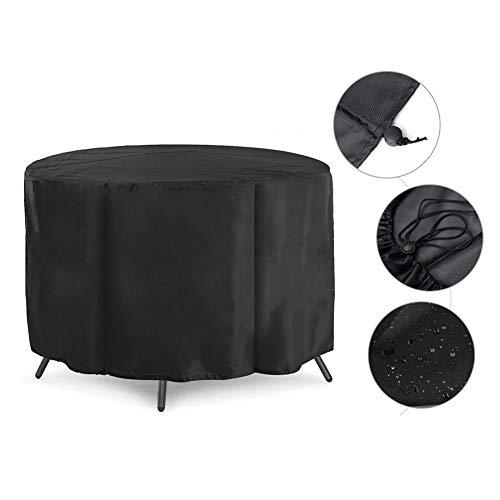 IrahdBowen Gartenmöbel Abdeckung Outdoor Runde Möbel Abdeckung wasserdicht Patio Tisch Stuhl Set Abdeckung für Garten cool -