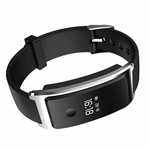YKS Smart Uhr 0,66 Zoll Licht Gewicht berühren OLED Bluetooth 4.0 Schrittzähler Tracking Kalorien Armband Schlaf Systemüberwachung -