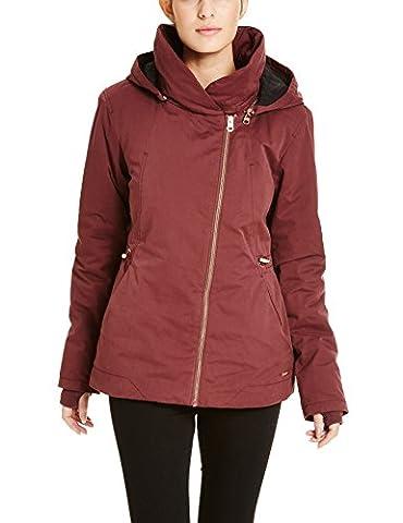 Bench Damen Daunenjacke Jacke TO - THE - POINT, Gr. 38 (Herstellergröße: M), Rot (Dark Red BU023)