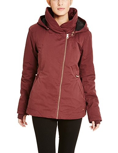 Bench Damen Jacke TO-the-Point, Rot (Dark Red BU023), 36 (Herstellergröße: S) (Frauen Ski-jacke Mit Fell)