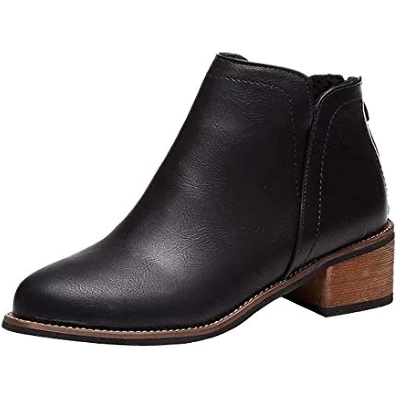 SANFASHION Bottines Boots Chukka Mode Femme Martin Bottes Bottines SANFASHION Scrub Boots Chelsea Classique - B07HFDDN75 - 1397b0