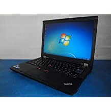 EFLEX COMPUTERS REFURBISHED LENOVO T410 LAPTOPS WINDOWS 7 PROFESSIONAL | Fast i5 2.4 Ghz M520 320Gb 4Gb |Webcam |One year Warranty |Notepads | Notebooks | Used Laptop | Computers | Laptop Accessories, [Importado de Reino Unido]
