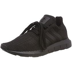 adidas Swift Run, Zapatillas para Hombre, Negro Core Black/Footwear White 0, 38 EU