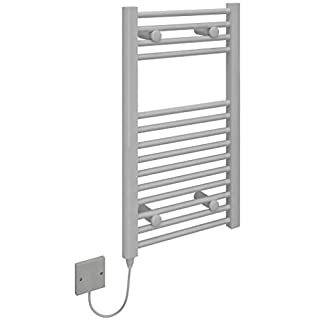 Kudox Electric Towel Warmer - 400x700mm Flat Arctic White