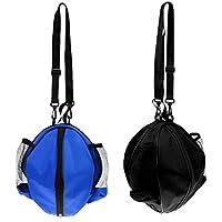 Sharplace 2 Stück Packung Wasserdichter Basketball Tragetasche mit Verstellbarer Schulterriemen, Balltasche Ballsack für Volleyball Fußball