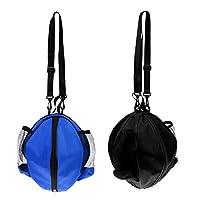 Sharplace 2 Pedazos Bolsas Impermeables para Baloncesto Voleibol Fútbol con Correa Ajustable de Hombro Decoración de Campo de Basketball Regalos para Novio