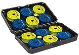 Fox Matrix Small EVA Storage Case - Angelbox für Vorfächer zum Stippangeln & Feederangeln, Box...