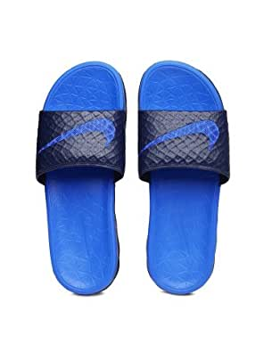 Nike Men Blue Benassi Solarsoft Slide 2 Flip-Flops (10uk)
