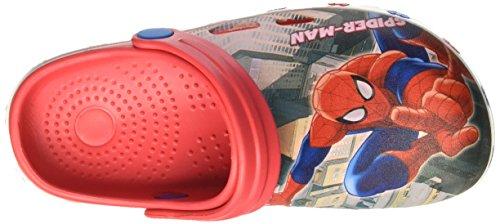 Marvel S17196laz, Chaussures à brides garçon Rouge